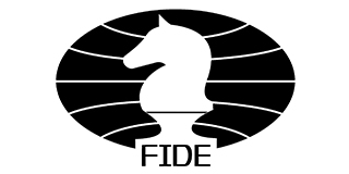 FIDE Logo black and white