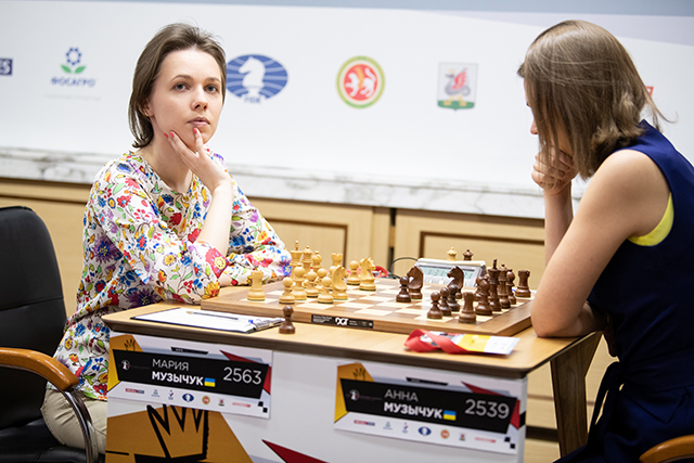 m 20190531 Kazan Women Candidates R01021-272 Anna Mariya Muzychuk UKRAINE