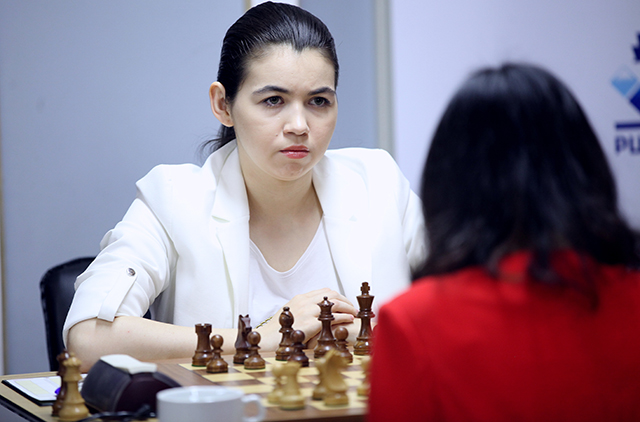 m 20190614 R12 8218 Tan Zhongyi Aleksandra Goryachkina Anastasiya Karlovich