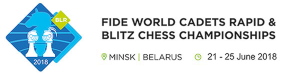 World Cadets Rapid Blitz Minsk 2018