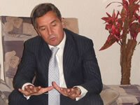 Mr. Djukanovic talking