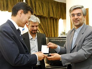 FIDE President and President of Iran NOC