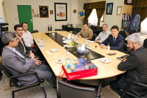 Meeting with the Iran Chess Federation and NOC