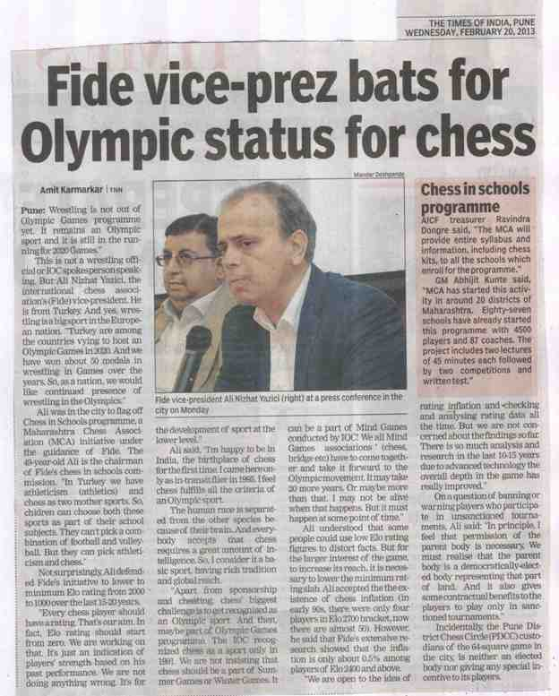 Times of India - 20.02.2013