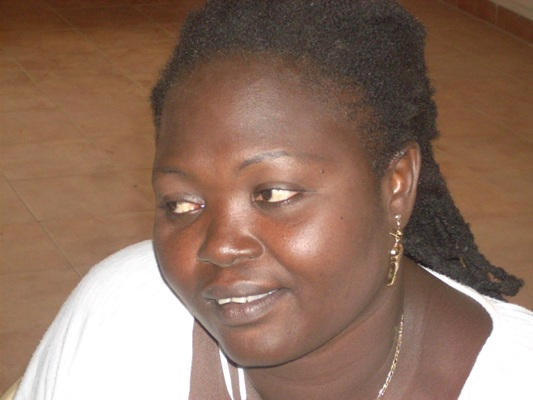 Aji Njie only female chess player in the Gambia
