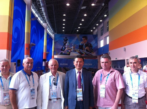 FIDE at Kazan Universiade 2013 4