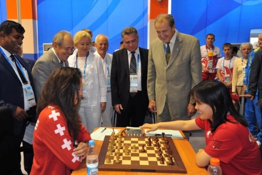 Universiade chess opening 2