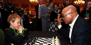 Jacob Zuma vs Keagan Rowe