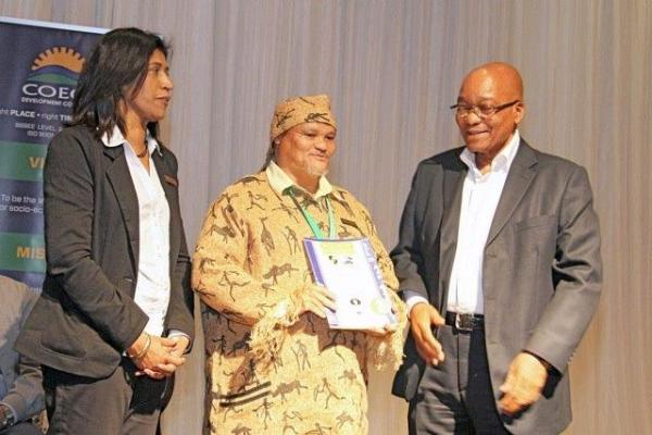 Joseph Zuma and Chessa President