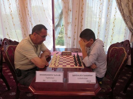 One of the prize winners - Khamdamov Suhrob