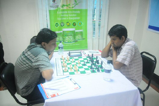 GM Hossain Enamul Playing with FM Islam Aminul
