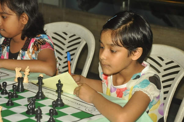 School students playing in the 13th Standard Chartered School Chess Tournament-2013-3