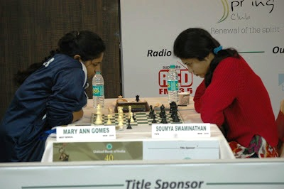 Defending champion Gomes and former champion Soumya