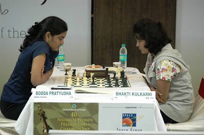 Pratusha Boddha took an early lead beating Bhakti Kulkarni