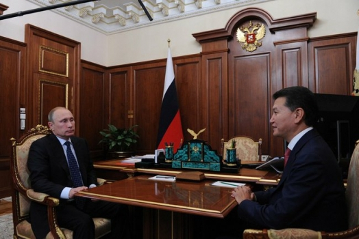 Putin and Ilyumzhinov