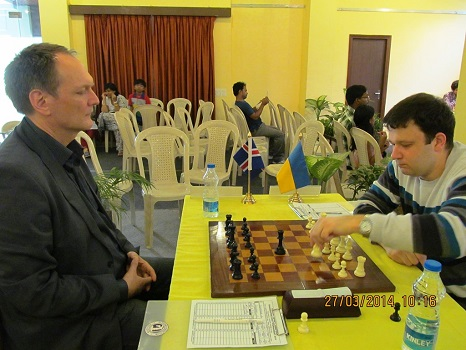 Sergey Fedrochuk of Ukraind defeated Henrik Danielsen of Iceland in the final round