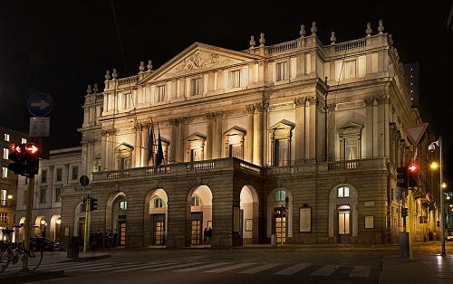 La Scala notte