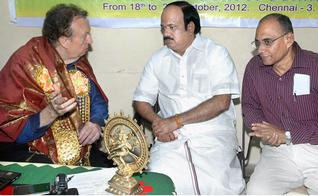 All India Chess Federation President J.C.D. Prabhakaran