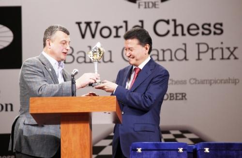 Baku 2014 Cup from Igor Lobortas