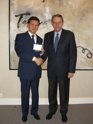 Jacques Rogge 2007