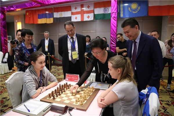 Georgia wins Women's World Team Chess Championship 2015