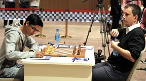 Anish Giri and Radoslaw Wojtaszek