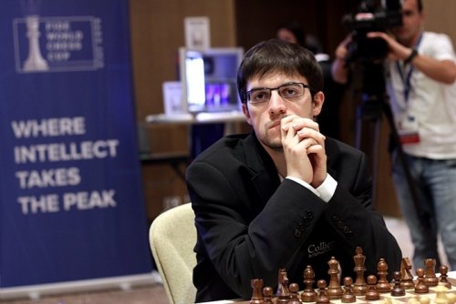 Maxime Vachier-Lagrave is through to the round of best 8