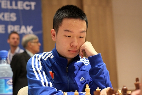 Wei Yi equalized the score against compatriot Ding Liren