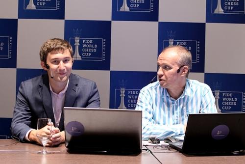 Sergey Karjakin interviewed by Sergei Shipov