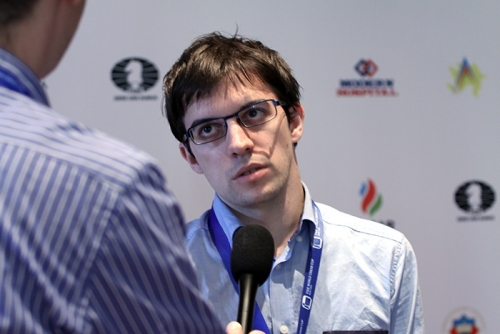 Maxime Vachier-Lagrave interviewed after the game