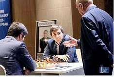 Sergey Karjakin revient, la finale de la Coupe du Monde FIDE 2015 continue