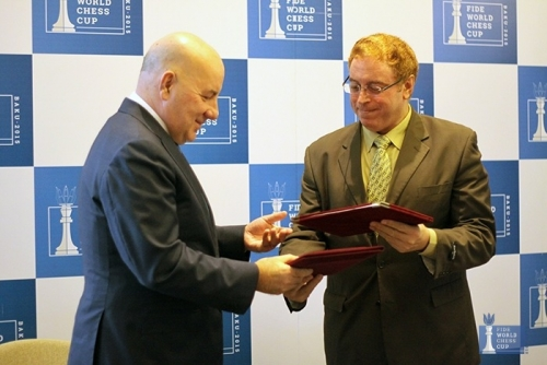 Agreement of cooperation between Azerbaijan and Egypt Chess Federations
