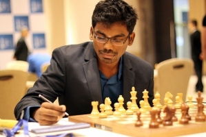 In another national derby SP Sethuraman defeated P Harikrishna