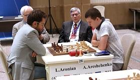 Alexander Areshchenko defeated Levon Aronian