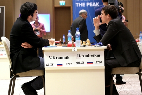 Finalists of the previous World Cup - Kramnik and Andreikin