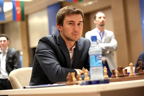 Sergey Karjakin started the 3rd round with a win