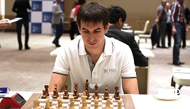 Dmitry Andreikin defeated the winner of 2013 World Cup Vladimir Kramnik