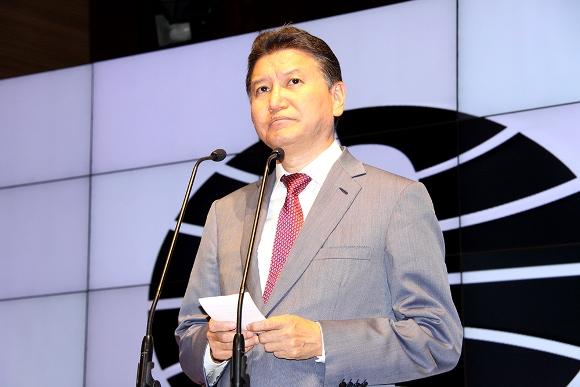 Kirsan Ilyumzhinov, President of FIDE