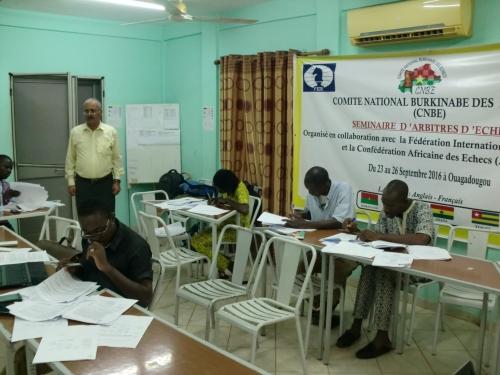 FIDE ARB Seminar in Ouagadougou 7  копия