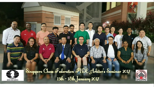 FIDE ARB Seminar in Singapore 2017