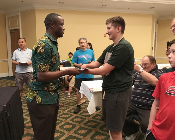 Robert Katende meets Raphael