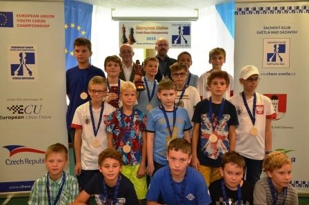 15 EU Youth Chess Chmp