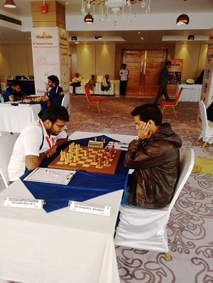 1. Lalith Babus draw against Swapnil Dhopade was sufficient for him to emerge champion