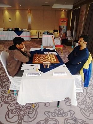 4. SL Narayanan finished fifth by beating S Nitin