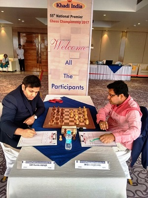 6. Abhijit Kunte defeated Arghyadip Das in a good game