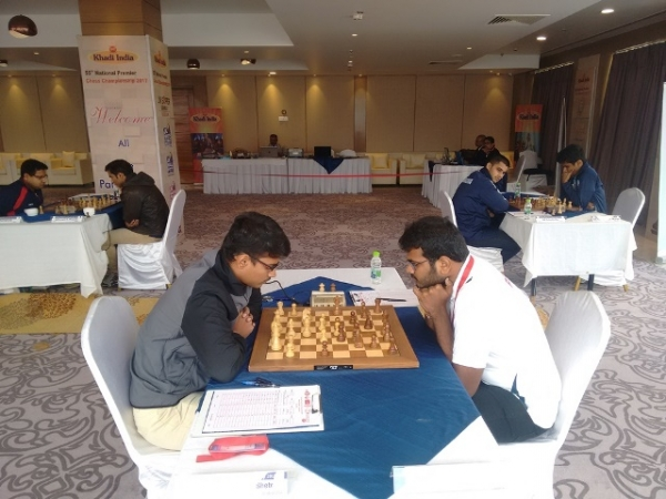 1. Sammed Shetes loss to Lalith Babu put Lalith at the top of the standings