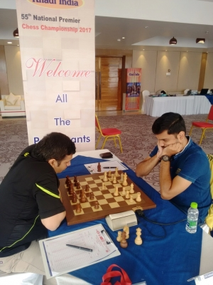 5. GM Abhijit Kunte was at the receiving end against S. Nitin