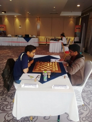 6. Swapnil Dhopade secured a draw against SL Narayanan