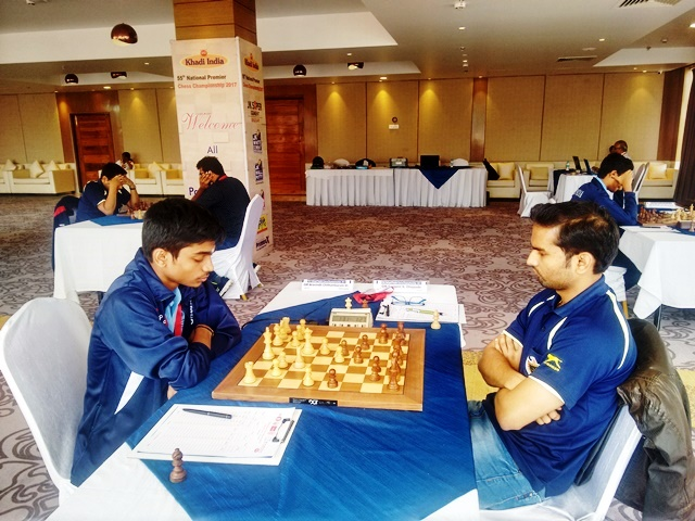 Aravindh Chithambaram defeated - Swapnil Dhopade in a rook and pawn ending