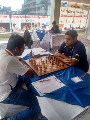 GM Lalith Babu had a convincing win over GM Laxman